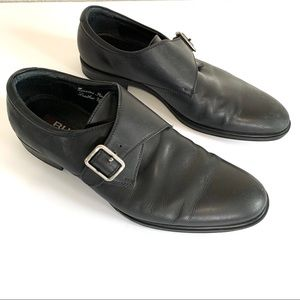 Gordon Rush Monk Strap Leather Loafers Dress Shoes